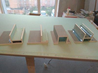 Монтаж и изготовление коробов из гипсокартона.