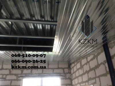 Профнастил конструктор, наборной профлист, проф-панель, узкий, дешевый 0,35мм