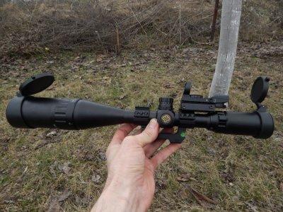 Mr 4-16x50 AOIRGBL тактический оптический прицел с коллиматором