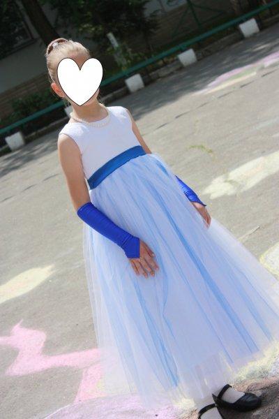 Платье праздничное бальное выпускное (7-10 лет)