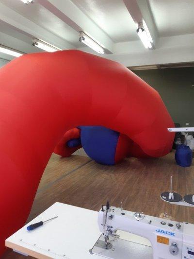 Custom inflatables Надувные фигуры для рекламы