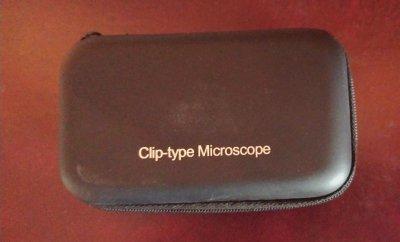 Карманный микроскоп для смартфона 60-100x