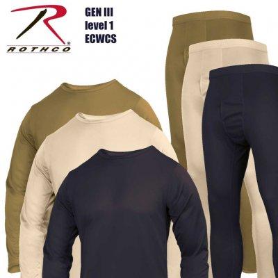 Термобелье армии США Rothco ECWCS GEN III Level 1