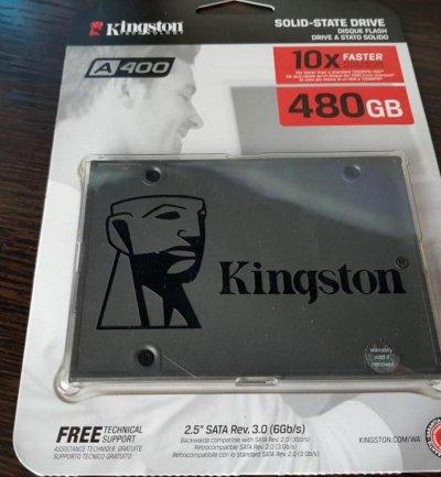 """Диск Ssd 2.5"""" 480GB Kingston SSDNow A400"""