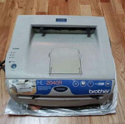 Домашний лазерный ч\б принтер Брозер HL-2040R