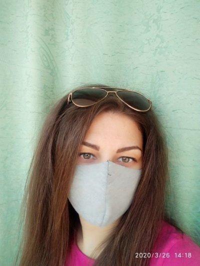 Захисна маска багаторазового використання