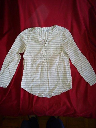 """Рубашка в полоску женская """"Blue Motion"""" S/44 размер-size"""