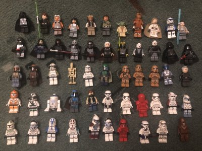 Фигурки LEGO Star Wars