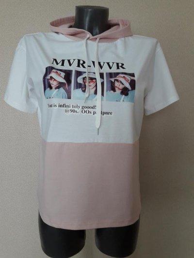 Летнее худи,футболка с капюшоном,оверсайз,Ambitionfly,Польша