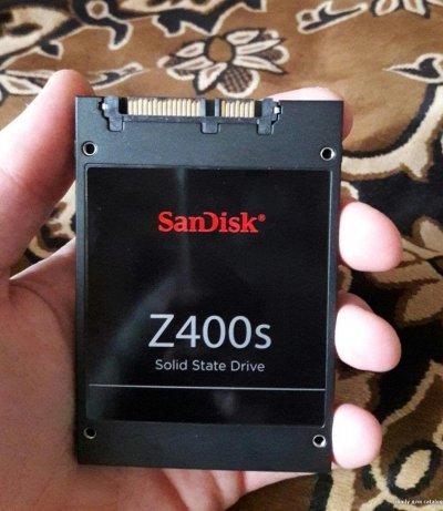 """Накопитель SSD 60Gb SanDisk Z400s 2.5"""" Sata-3 MLC"""