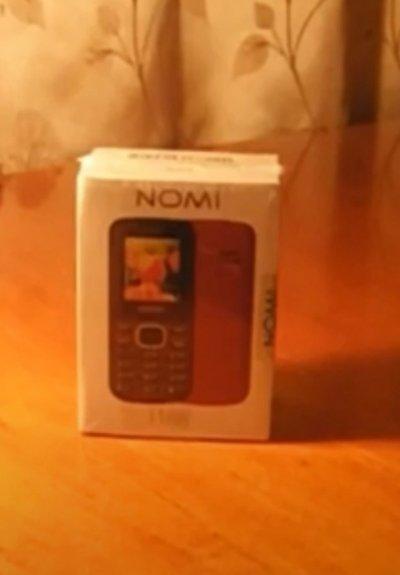 Телефон Nomi i188 Dual Sim красный