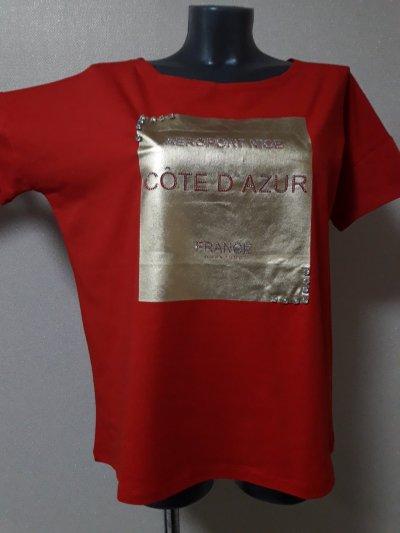 Модная стильная,шикарная футболка оверсайз,с эффектной золотистой накаткой