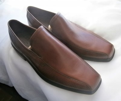 Туфли слипоны ecco johannesburg 623584 оригинал ,натуральна кожа