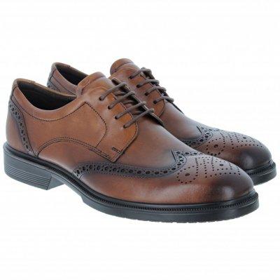 Туфли броги ecco lisbon 622164 оригінал ,натуральна кожа