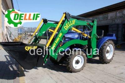 Кун на мини-трактор (24 -40 л.с.) - погрузчик Деллиф Бейби 500