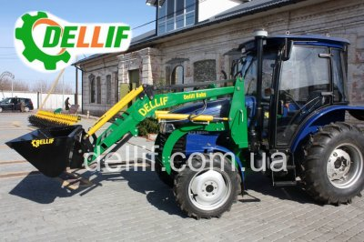 Кун на мини-трактор ДТЗ 5504 - Деллиф Бейби 800