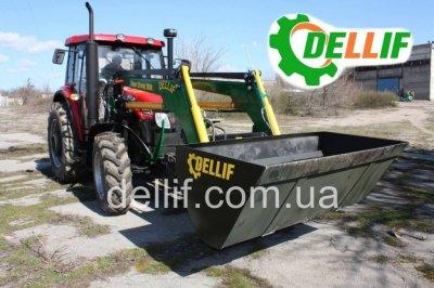 Кун на трактор Yto 954 (юто) - погрузчик Деллиф Супер Стронг 2000