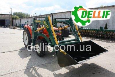 Погрузчик на мини-трактор (24-40 л.с.) - Деллиф Бейби 500