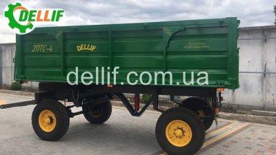 Прицеп тракторный 2 ПТС 4 - Деллиф