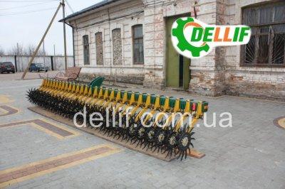Ротационная борона -Деллиф Белла 6 м с транспортным положением
