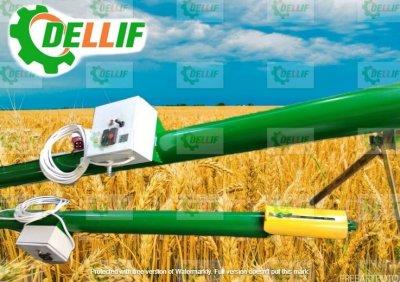 Шнековый зерновой погрузчик - Деллиф