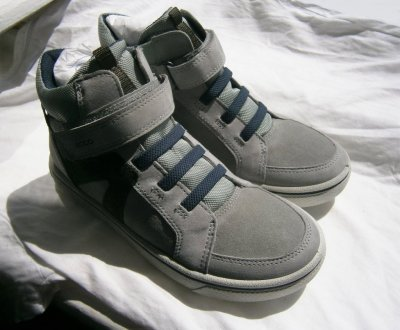 Ботинки детские ecco glyder 736142 оригінал , натуральна замша і кожа