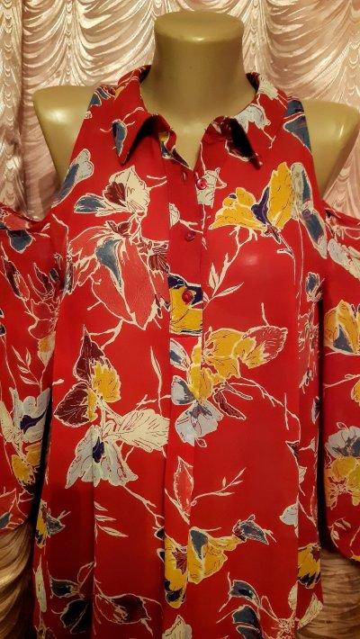 Блуза с открытыми плечами. Next.46 размер.
