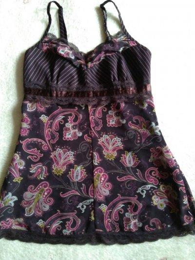 Новая блуза топик бренд ESPRIT р 36/кружево пляж море только Тебе
