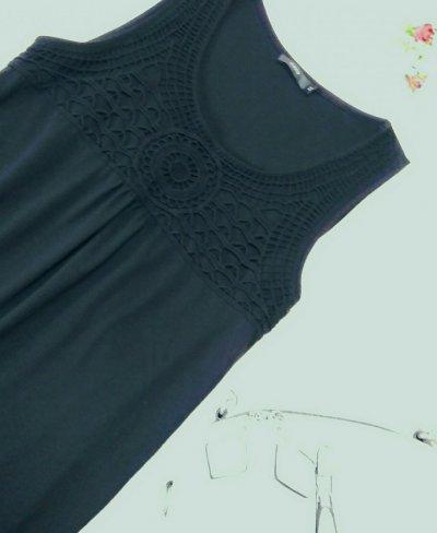 Чёрное платье Zero