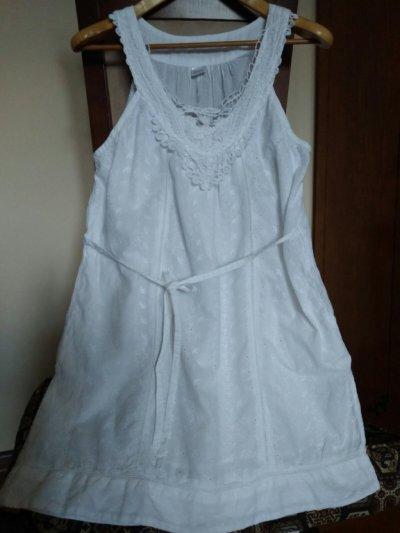 Платье сарафан Индия хлопок /Сукня з бавовни/р46 -48 кружево вышивка