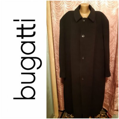 Bugatti. Мужское пальто. Шерсть+кашемир. Большой размер.(батал)