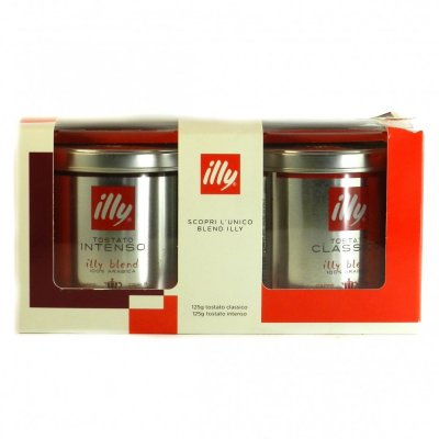 Кава Illy tostato classico and intenso (2*125)250г