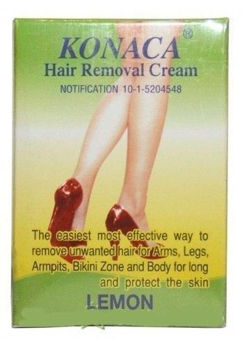 KONAKA Hair Remove Gel, 50 мл - крем для депиляции, удаления волос и препятствию их роста