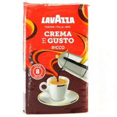 Мелена кава Lavazza Crema e Gusto Ricco 250 г