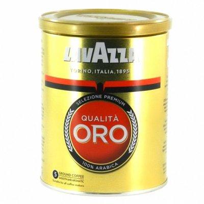 Мелена кава Lavazza Qualita Oro 250 г (ж/б)