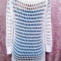 Ажурный джемпер, свитер, кофта. Laura Torelli. Размер 44-46.