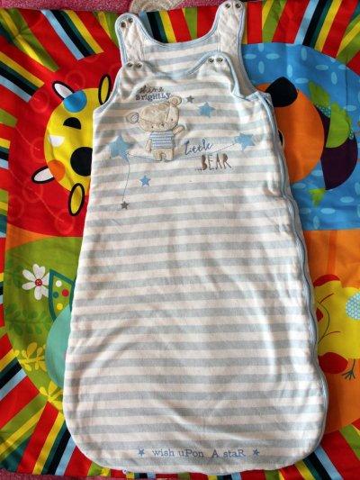 Теплый спальный мешок для ребенка