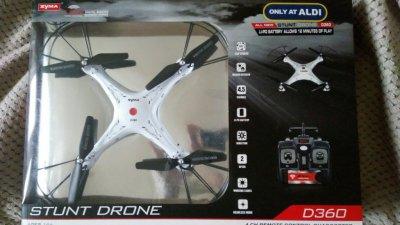 Дрон Stunt Drone D 360