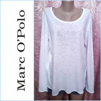 Marc O'Polo. Белоснежная женская футболка. Размер М.