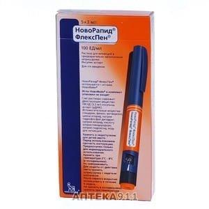 Новорапид шприц ручка инсулин Срок годности 10.2021 г. Постоянно в наличии. 160 грн