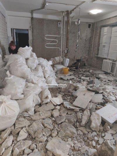 Демонтажные работы. Демонтаж квартиры, стяжки пола, стен, перегородок, штукатурки, плитки