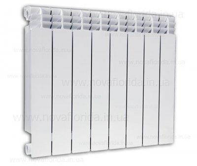 Alustal 500/100 радіатор опалення біметалічний 1 секція