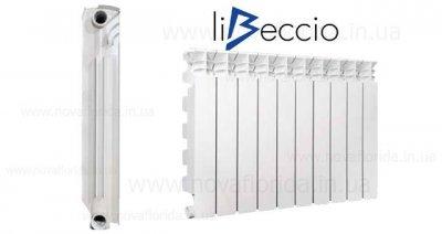 Libeccio C2 500/100 радіатор опалення алюмінієвий 1-секція