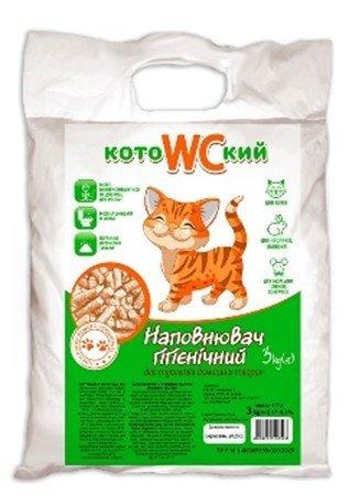 Гигиенический наполнитель для кошачьего туалета, а также для содержания грызунов и птиц.