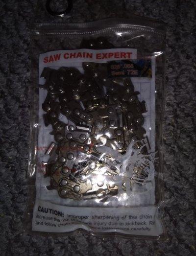 """Пильная цепь Saw Chain 0,325 1,5mm 72зв под шину 18""""45см на бензопилу"""