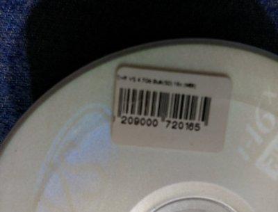 Диск DVD-R VS 4.7Gb 16x упаковка 50шт
