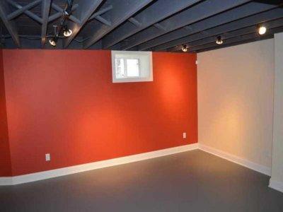 Безвоздушная Покраска потолка в чёрный цвет, фоновый потолок, лофт покраска