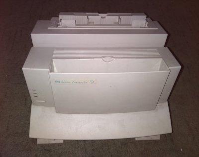 Лазерный принтер HP LJ5L с картриджем