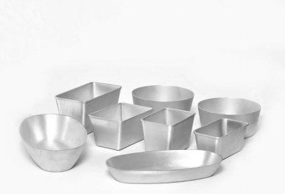 Алюмінієві форми для випікання хліба.
