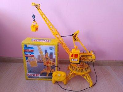 Кран детский на дистанционном управлении игрушка